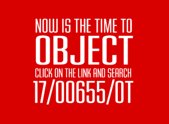 NOW IS THE TIME TO OBJECT