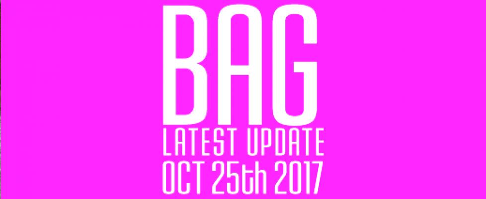 BAG Latest Update Oct 2017